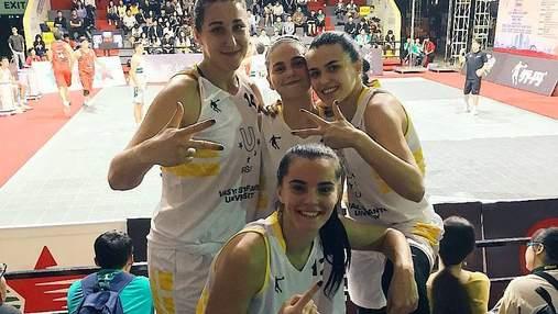 Сборная Украины победила в группе Всемирной университетской лиги 3х3