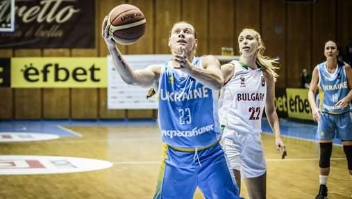 Украинка признана самой результативной баскетболисткой отбора на Евробаскет-2019