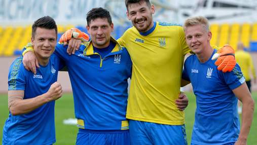 Селезньов відвідав збірну України перед матчем з Туреччиною: фото