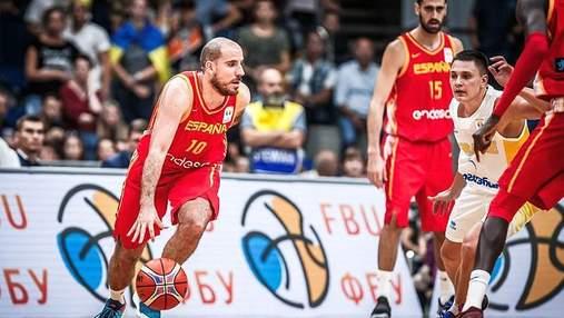 Сборная Испании по баскетболу назвала состав на игру против Украины