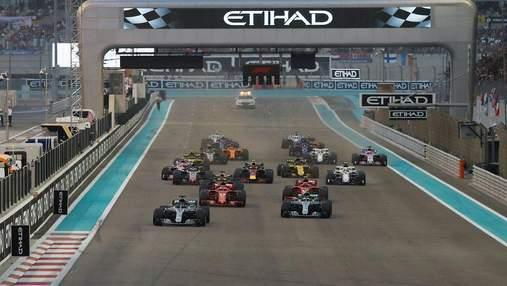 Хемілтон виграв гран-прі Абу-Дабі, Райкконен не зумів фінішувати в останній гонці за Ferrari