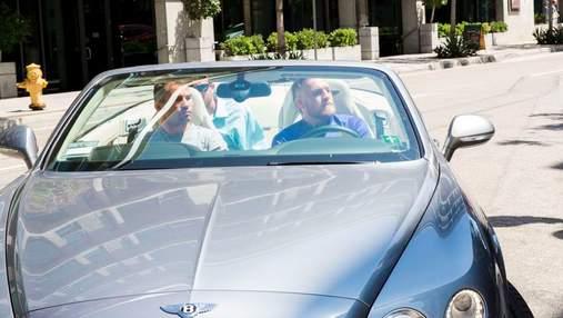 У скандального Макгрегора відібрали водійські права за перевищення швидкості