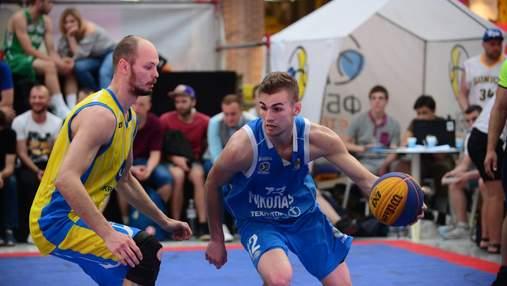 Федерация баскетбола Украины создала новый чемпионат по баскетболу 3х3