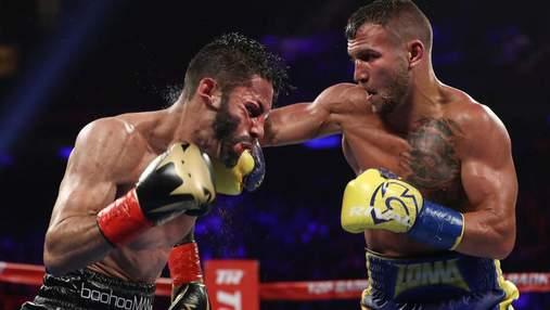 WBA визнала бій Василя Ломаченка найкращим у 2018 році