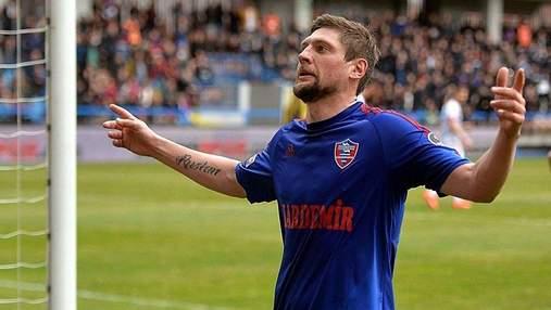 Футболист сборной Украины переезжает в Испанию