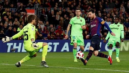 """""""Барселона"""" вийшла у чвертьфінал Кубка Іспанії, хоча програла перший матч: відео"""