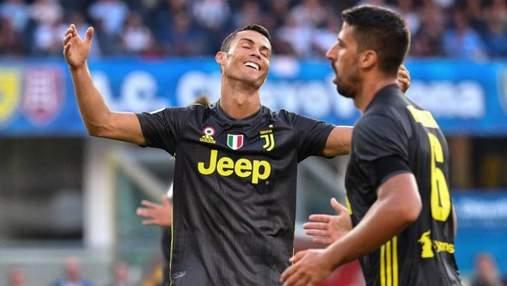 """""""Ювентус"""" розгромив аутсайдера Серії А, Роналду не забив пенальті: відео"""