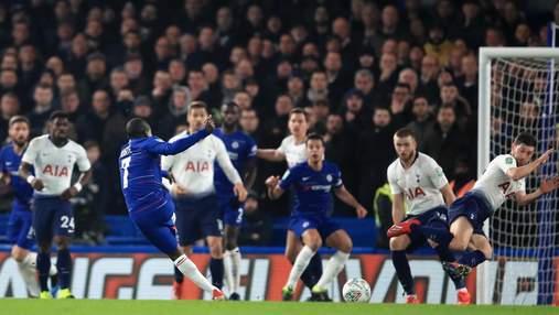 """""""Челсі"""" в серії пенальті здолав """"Тоттенхем"""" та вийшов у фінал Кубка ліги: відео голів"""