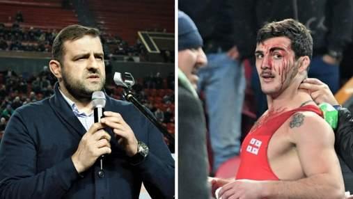 Президент Федерации борьбы Грузии избил цепью двукратного чемпиона Европы: видео драки