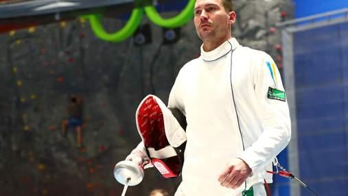 Украинский шпажист Никишин выиграл медаль на соревнованиях в Катаре