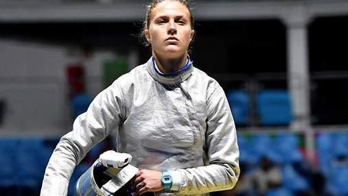 Украинская олимпийская чемпионка неудачно упала на телевизор во время соревнования: видео