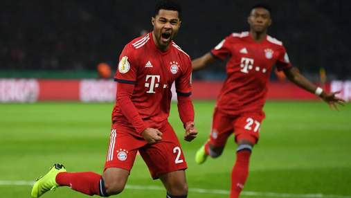 """""""Баварія"""" у додатковому часі змогла перемогти """"Герту"""" в Кубку Німеччини: відео голів"""