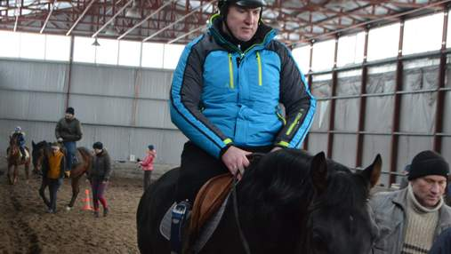Ветеран АТО с ампутированной ногой планирует принять участие в Паралимпиаде по конному спорту