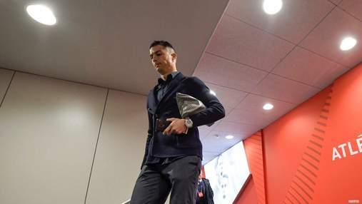 """Роналду неоднозначно отреагировал на поражение в Лиге чемпионов от """"Атлетико"""""""