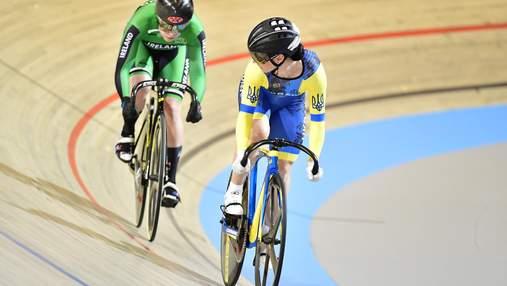 Украинка Старикова впервые за 11 лет завоевала для Украины медаль чемпионата мира по велотреку