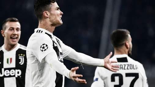 """Роналду вывел """"Ювентус"""" в четвертьфинал Лиги чемпионов: видео"""