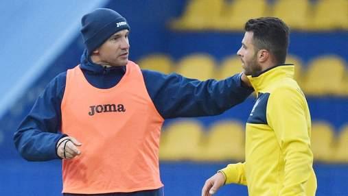 Как Мораеса приняли в сборной Украины: видео первой тренировки