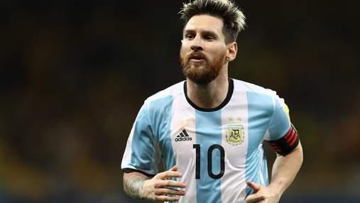 Ліонель Мессі травмувався в ганебному матчі збірної Аргентини