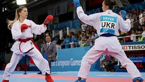 Женская сборная Украины по каратэ выиграла чемпионат Европы