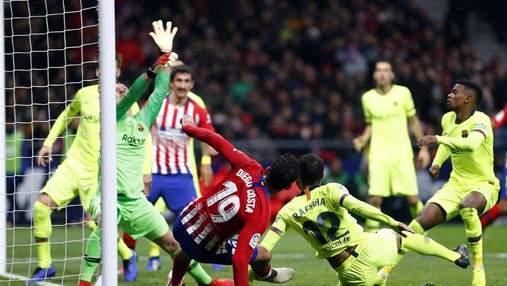 """""""Барселона"""" у більшості перемогла """"Атлетіко"""": відео"""