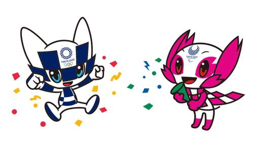 Представлені зображення олімпійського талісмана за видами спорту Токіо-2020: фото