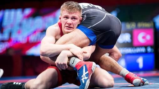 Украинский борец блестяще завоевал награду на чемпионате Европы