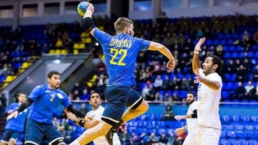 Збірна України з гандболу впевнено перемогла Фарерські острови у відборі на Євро-2020