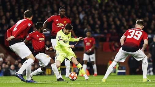 Барселона – Манчестер Юнайтед: прогноз букмекерів на матч Ліги чемпіонів