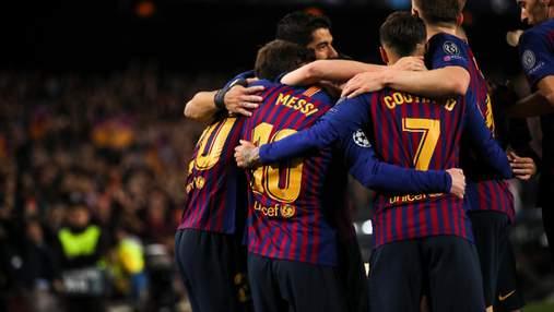 """""""Барселона"""" декласувала """"Манчестер Юнайтед"""": відео"""