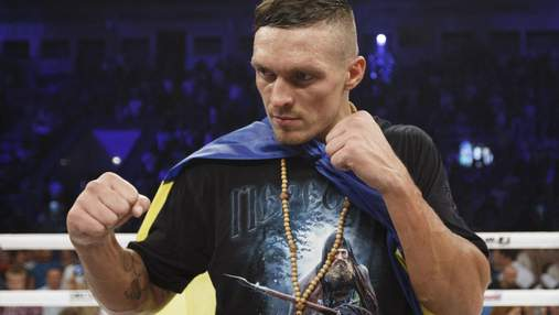 Олександр Усик стане зірковим гостем на вечорі боксу в Києві