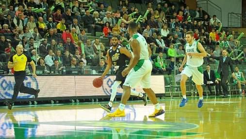 """""""Химик"""" в овертайме удвоил преимущество в финальной серии Суперлиги по баскетболу"""