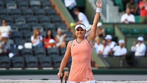 Українка Козлова вибила представницю Росії з престижного тенісного турніру