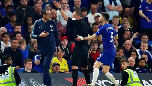 """Тренера """"Челсі"""" жорстко обзивали під час матчу, він заплатить серйозний штраф"""