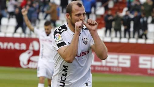 Український футболіст підвів свою команду у матчі чемпіонату Іспанії