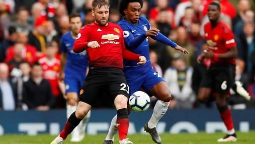 """""""Манчестер Юнайтед"""" та """"Челсі"""" не визначили сильнішого у боротьбі за Лігу чемпіонів: відео"""