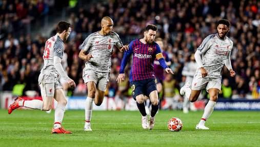 """""""Барселона"""" розгромила """"Ліверпуль"""" у першому матчі півфіналу Ліги чемпіонів: відео"""