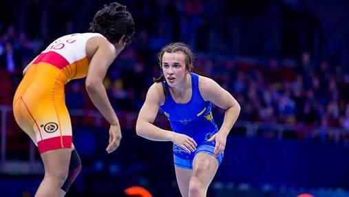 Наймолодшу чемпіонку Європи з боротьби визнали найкращою спортсменкою України у квітні