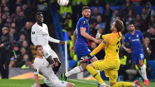 """""""Челсі"""" переміг """"Айнтрахт"""" у серії пенальті і зіграє у фіналі Ліги Європи: відео"""