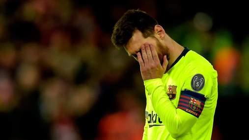 """""""Барселона"""" забула про Мессі після ганебного фіаско в Ліверпулі"""