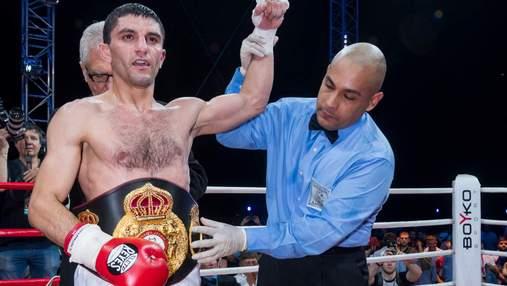 Украинский боксер Далакян проведет защиту чемпионского титула в нестандартном месте