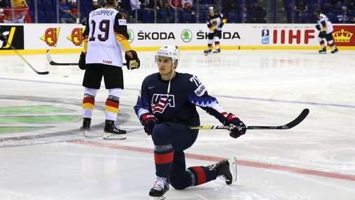 Сборная США по хоккею вырвала победу у Германии, Чехия разбила Австрию: видео
