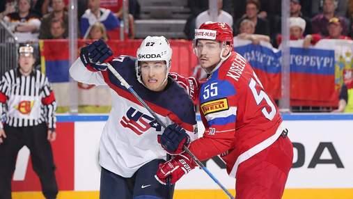 Росія зіграє з США, Канада – зі Швейцарією: визначилися учасники 1/4 фіналу ЧС з хокею
