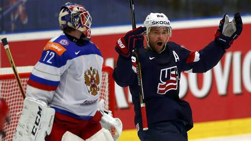 Росія – США: онлайн 1/4 фіналу чемпіонату світу з хокею