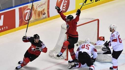 Топ-3 голи та сейви чвертьфіналу чемпіонату світу з хокею: відео