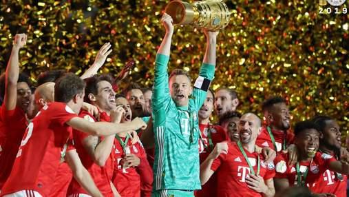 """""""Баварія"""" розгромила """"РБ Лейпциг"""" та виграла Кубок Німеччини: відео"""