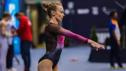 Две украинские гимнастки завоевали награды на Кубке мирового вызова