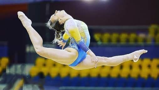 Украинская гимнастка завоевала золотую награду на Кубке мирового вызова