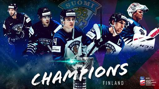 Финляндия выиграла чемпионат мира по хоккею, обыграв в финале Канаду: видео
