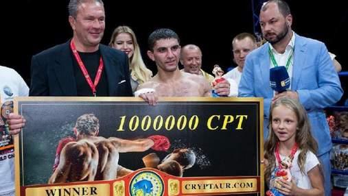 Украинский боксер Далакян получит гонорар за чемпионский бой в криптовалюте