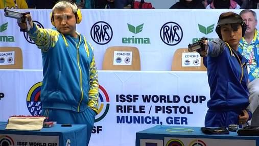 Українські стрільці вибороли срібні медалі Кубка світу